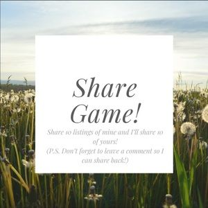 Other - Share game! 😃💕